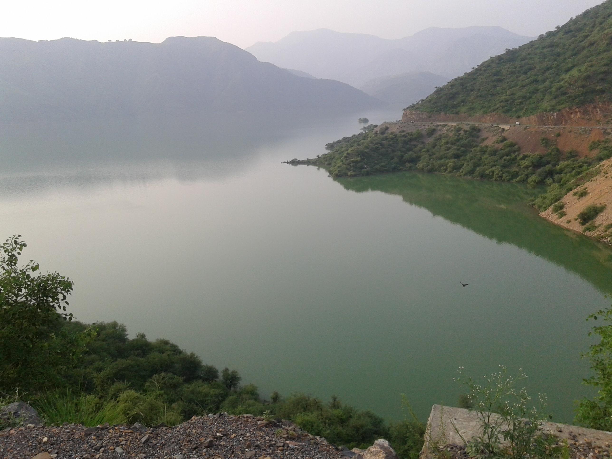 File:View of tarbela dam from chappar road haripur, KPK ...