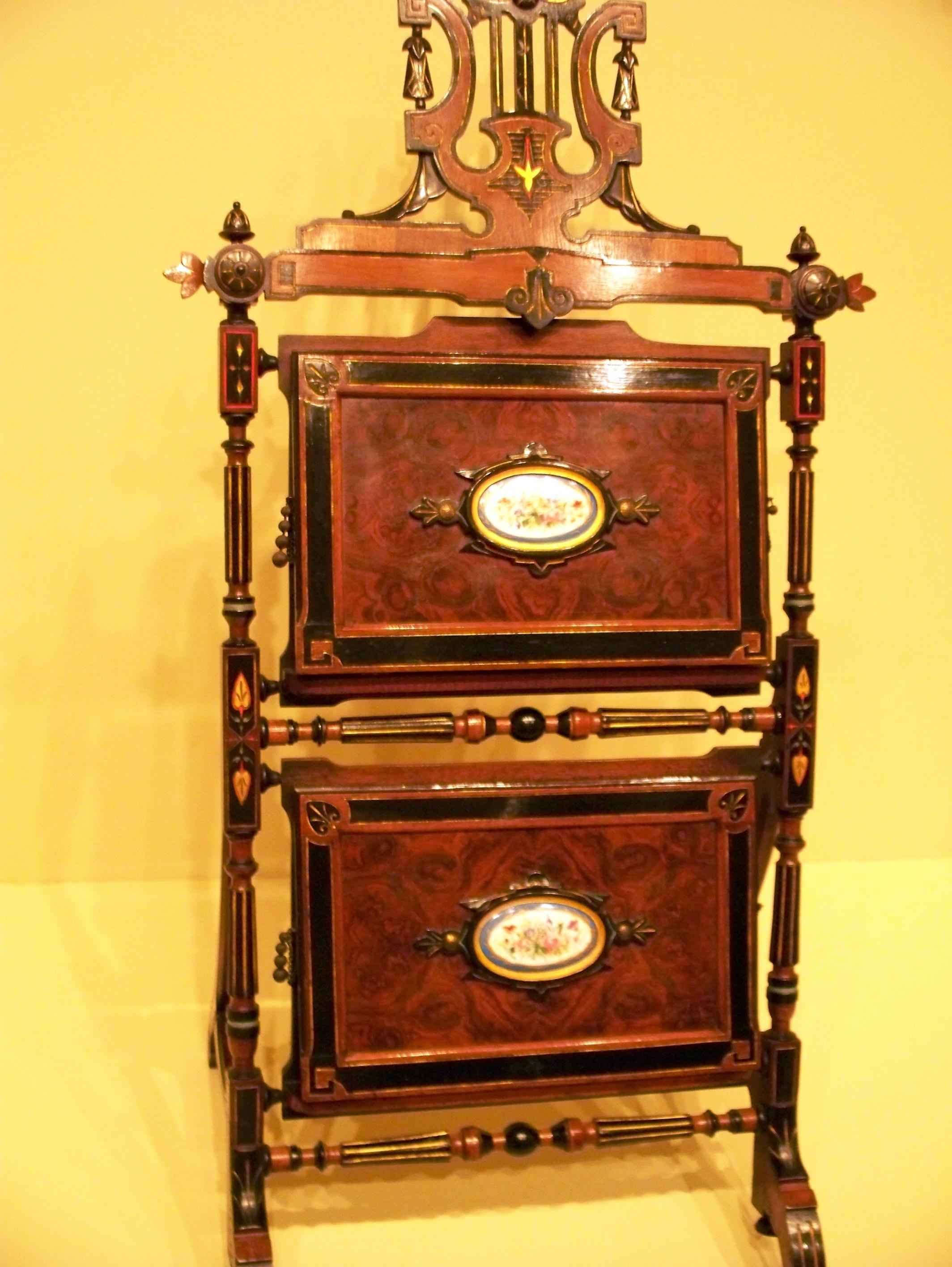 File Wla Ima American Furniture Burl Walnut Music Rack Wikimedia Commons