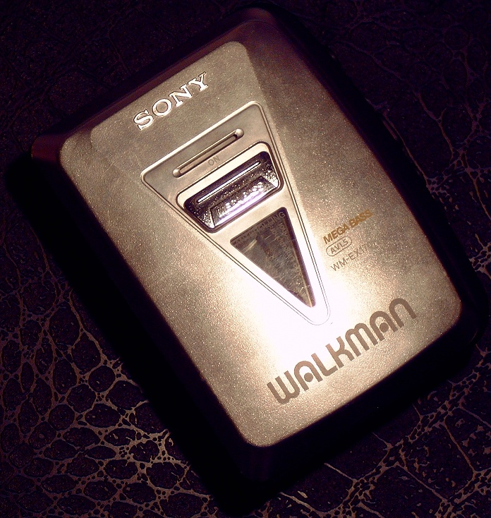 A cool, later era Walkman