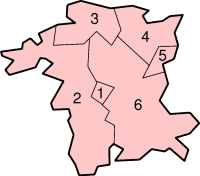 Location of Worcestershire