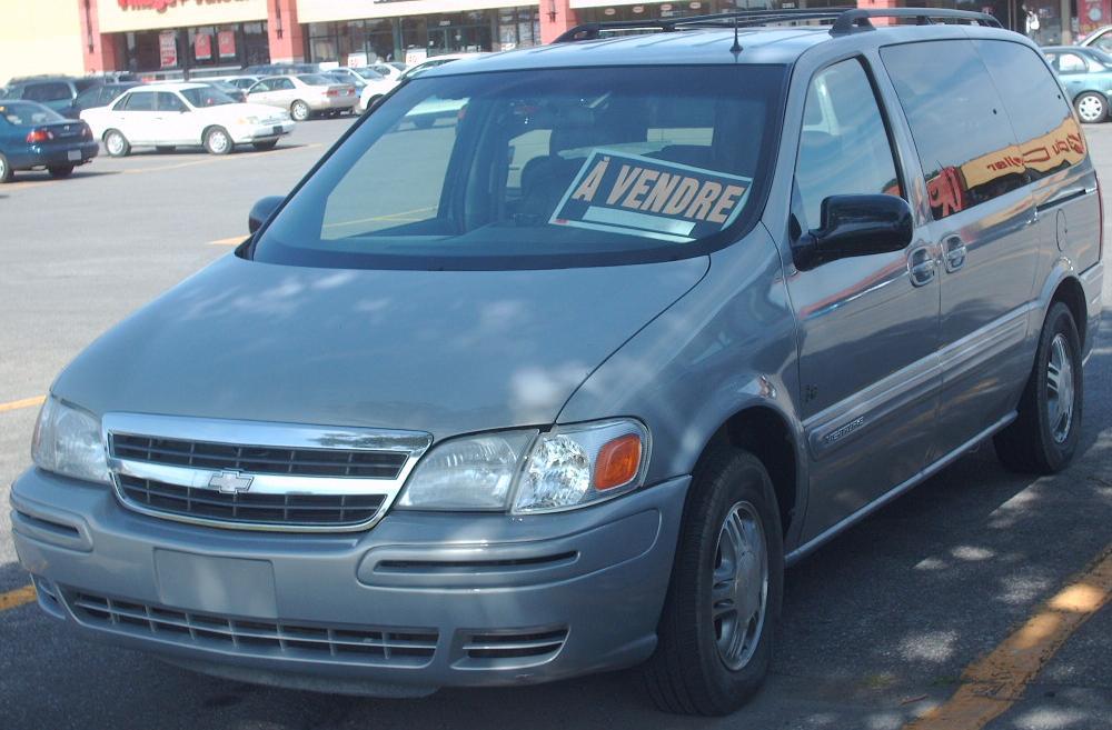 chevrolet venture 2005 azul