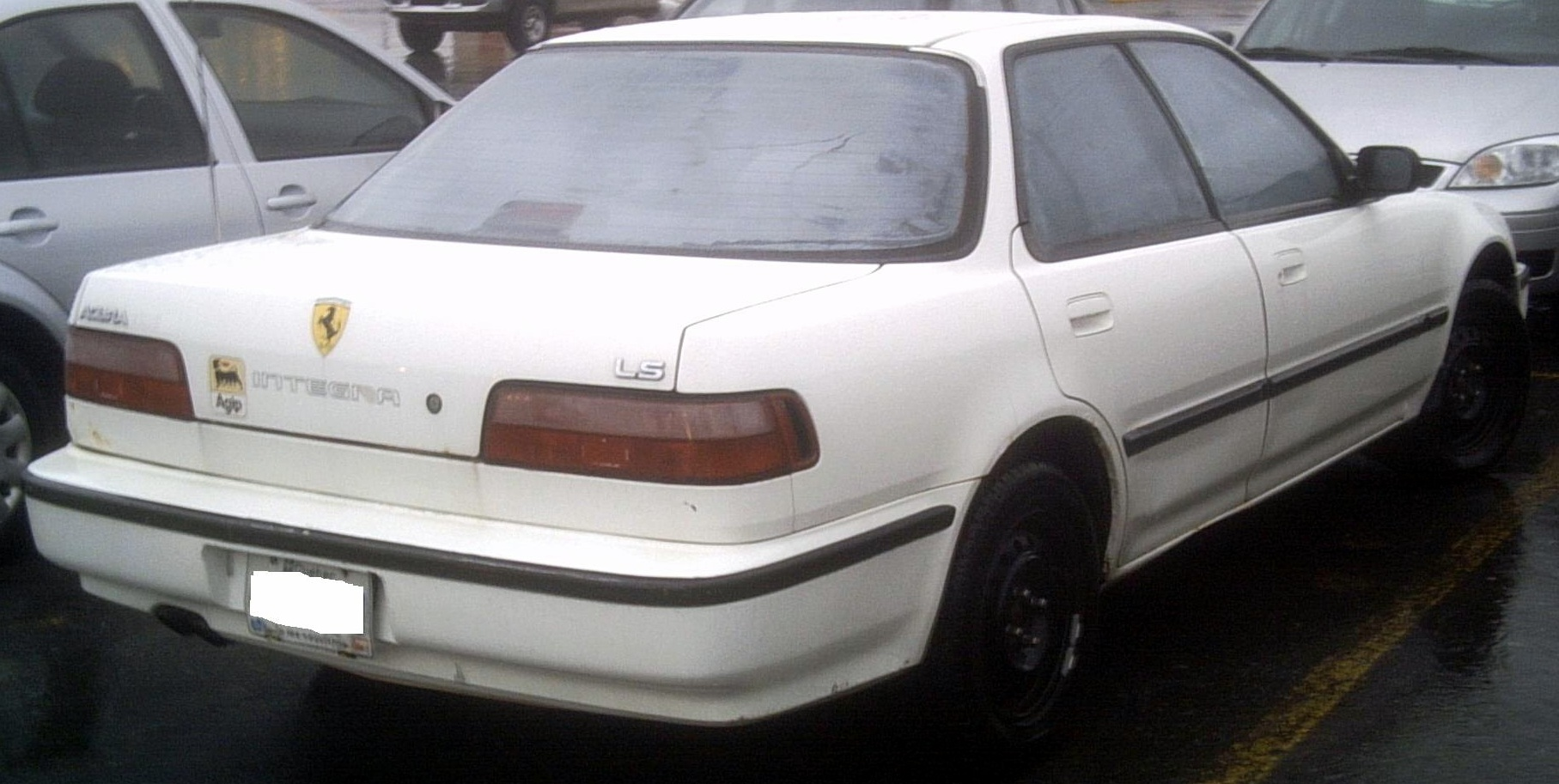 File:'90 Acura Integra Sedan -- Rear.JPG - Wikimedia Commons