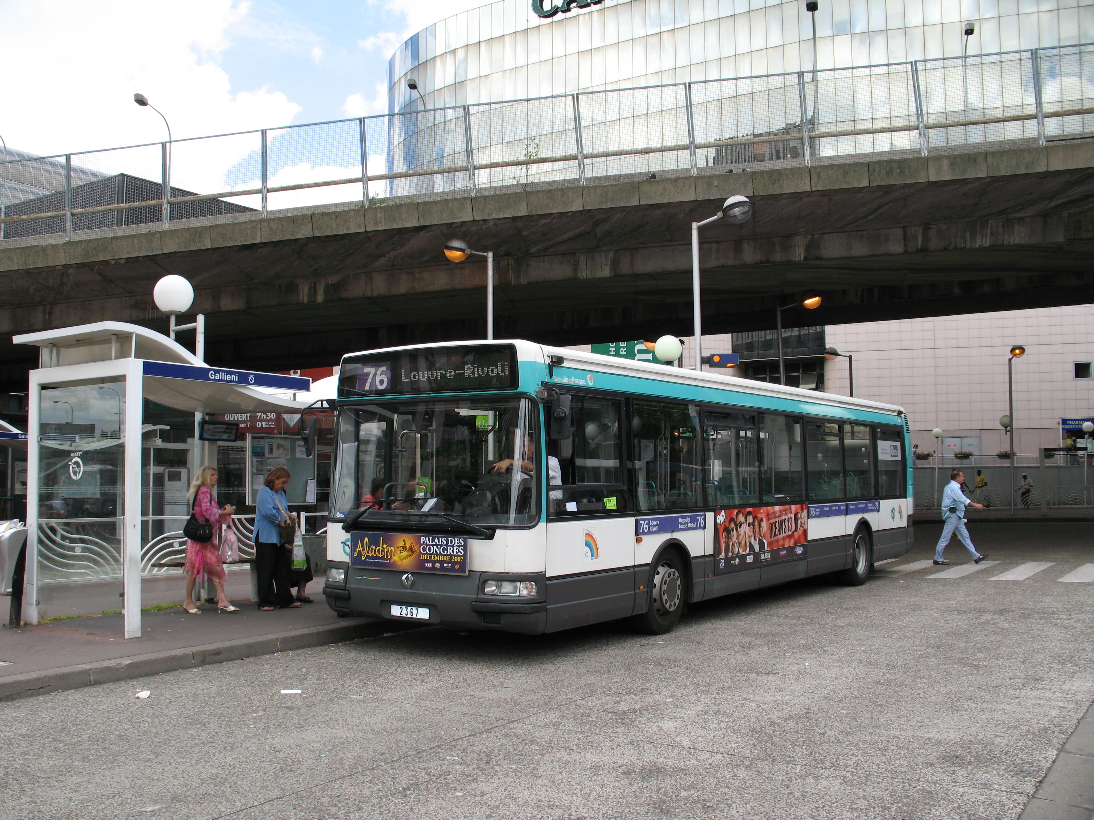 Bus Gare Centre Ville Paris