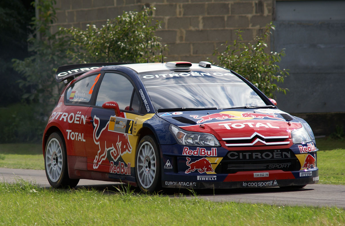 Rally Car Racing >> Citroën C4 WRC – Wikipedia