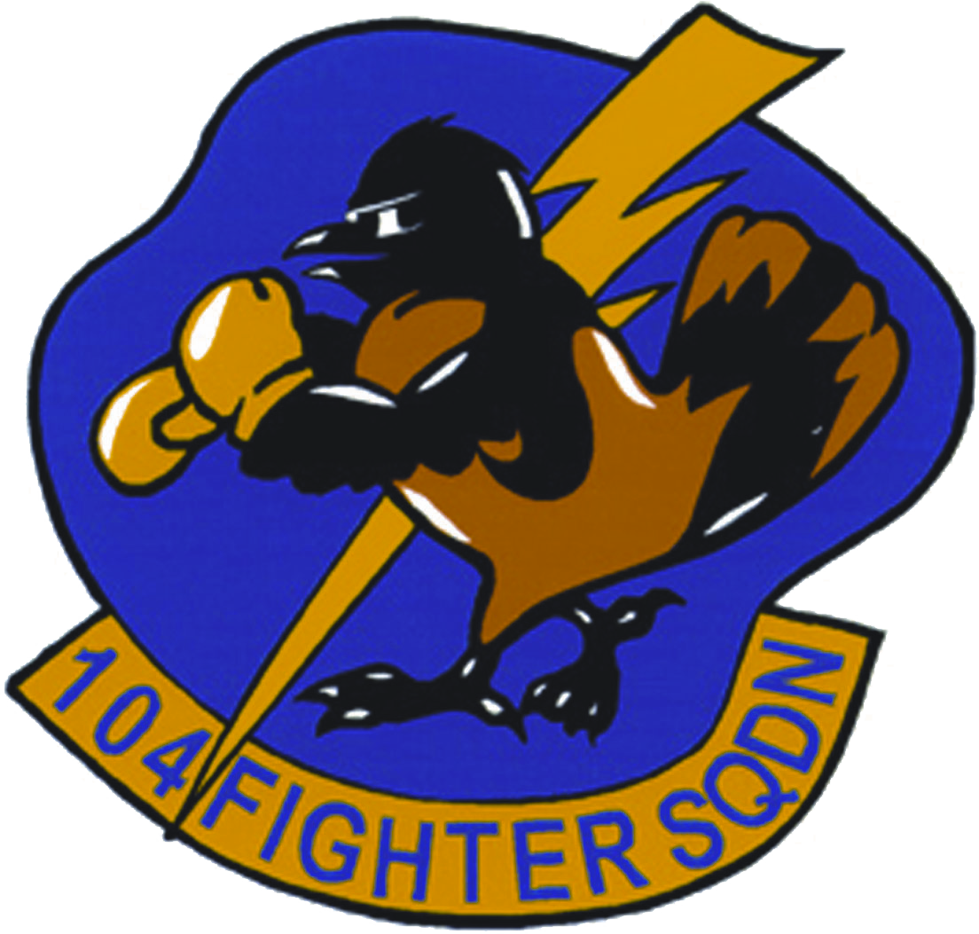 US Air Force USAF190th Fighter Squadron Decal Sticker