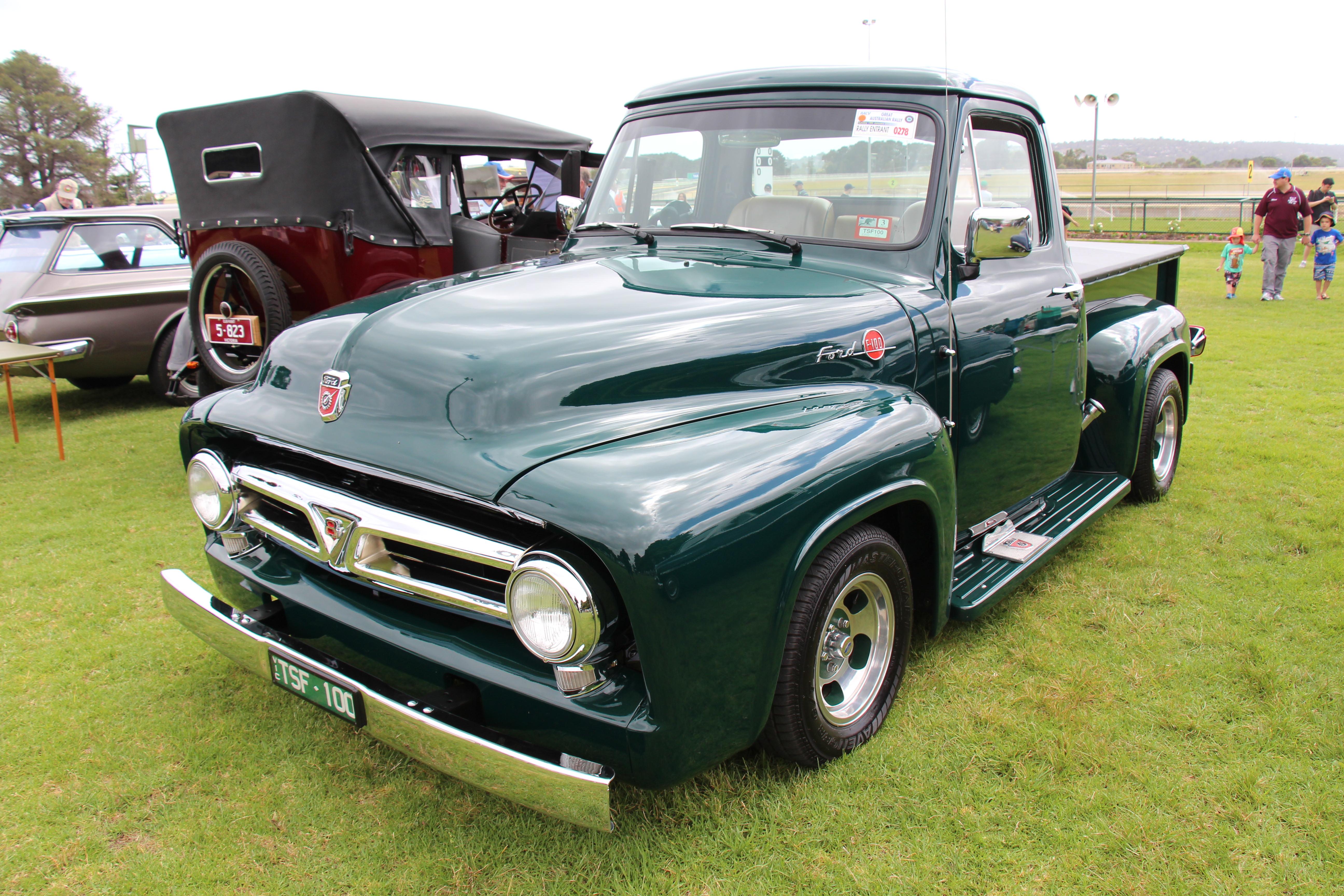 File1953 Ford F100 Standard Cab Pickup 12789438223 Engine