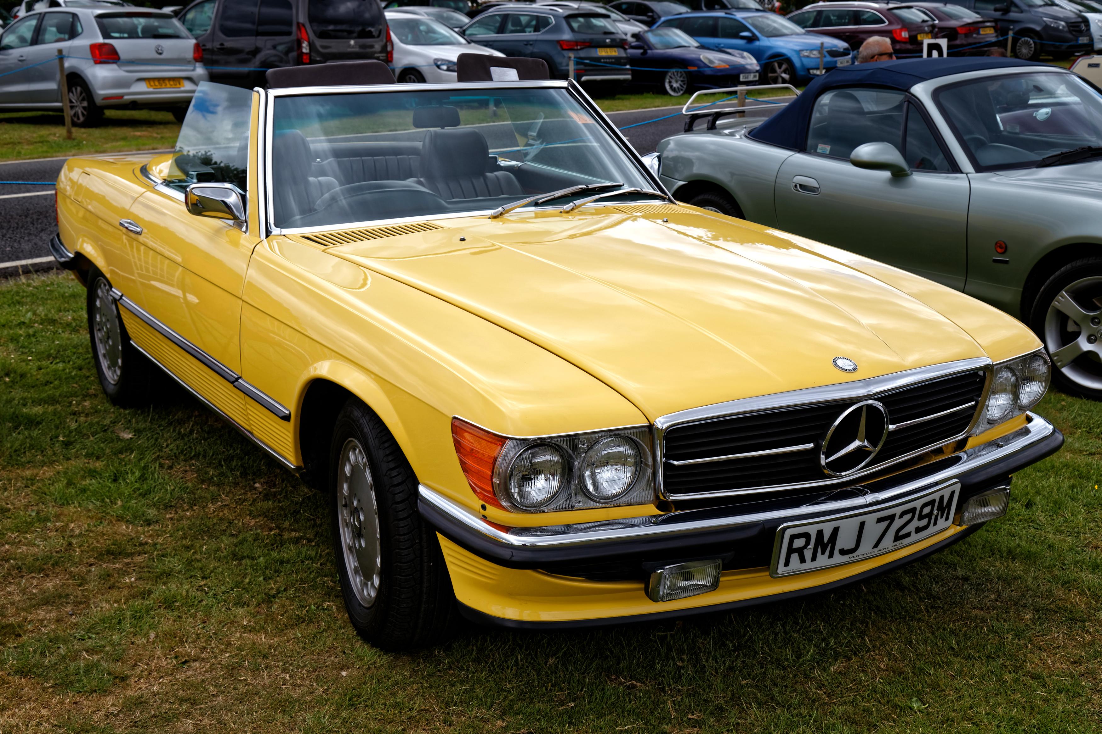 File 1973 Mercedes 450 Sl Auto At Hatfield Heath Festival 2017 Jpg