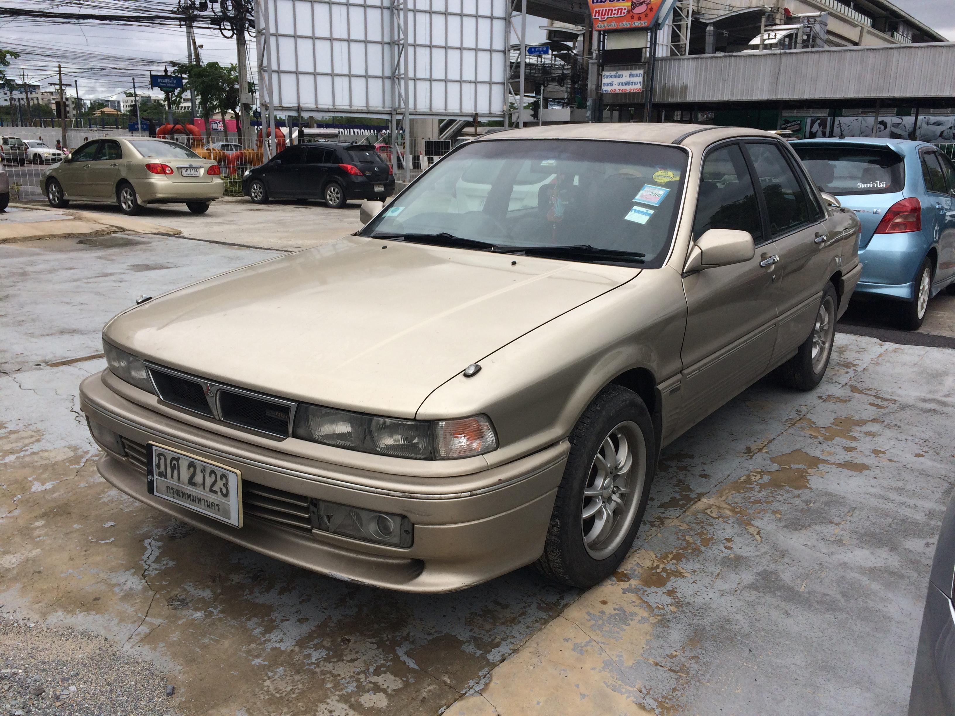 File 1992 1993 Mitsubishi Galant E33 Glsi Automatic Sedan 17 08