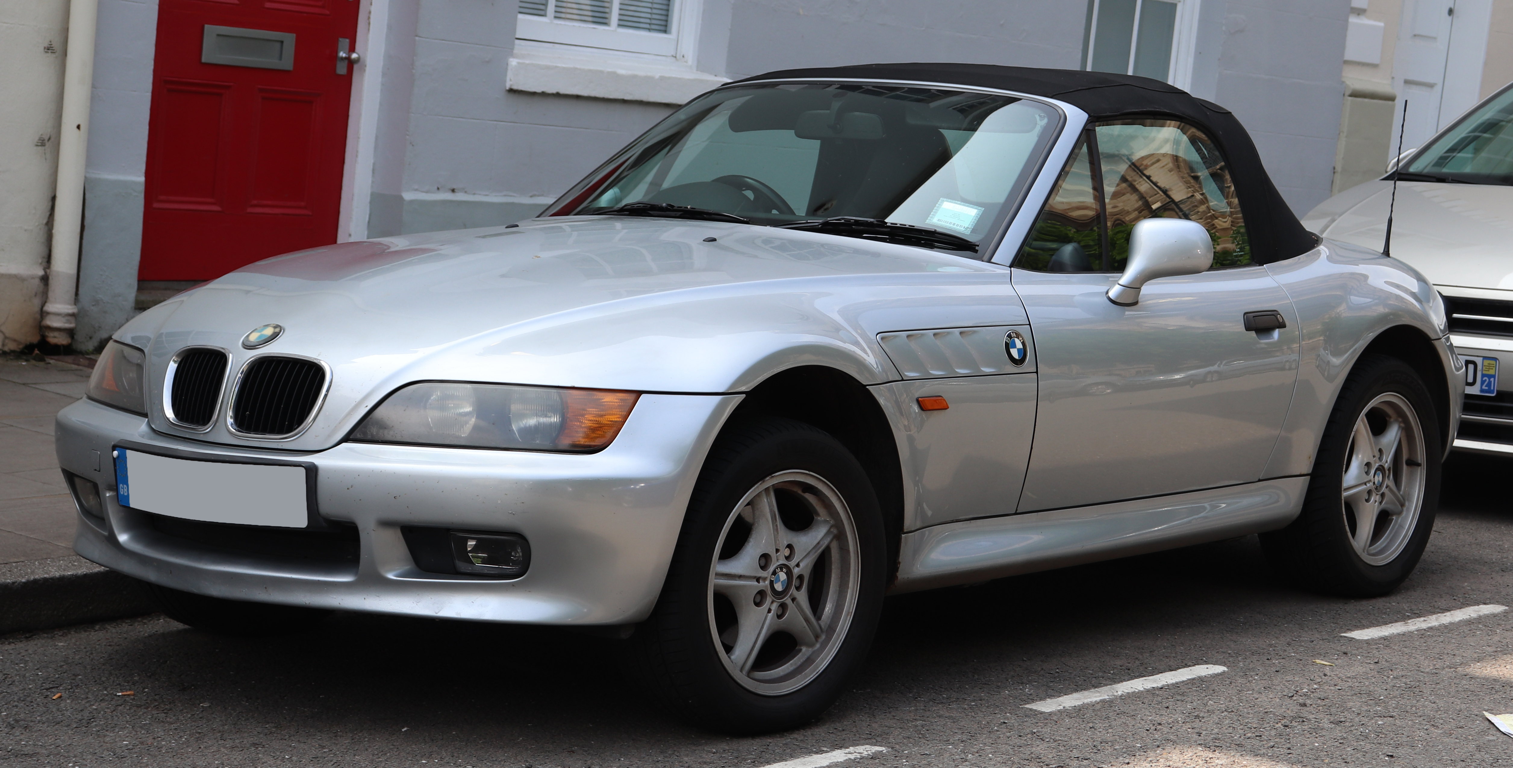 File 1998 Bmw Z3 1 9 Front 1 Jpg Wikimedia Commons