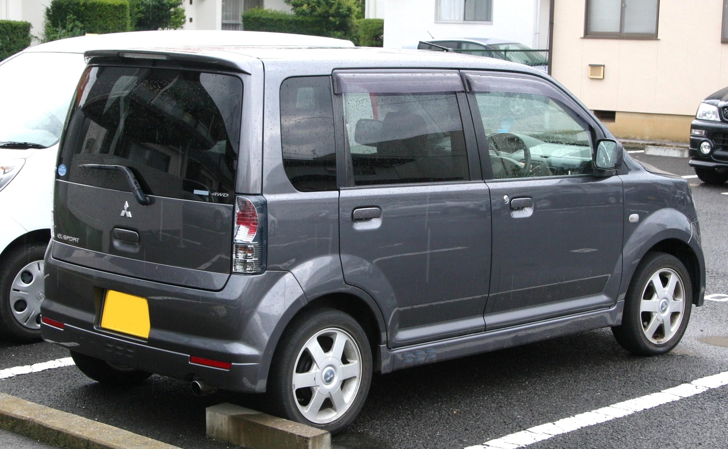 Mitsubishi Ek Wagon User Manual In English