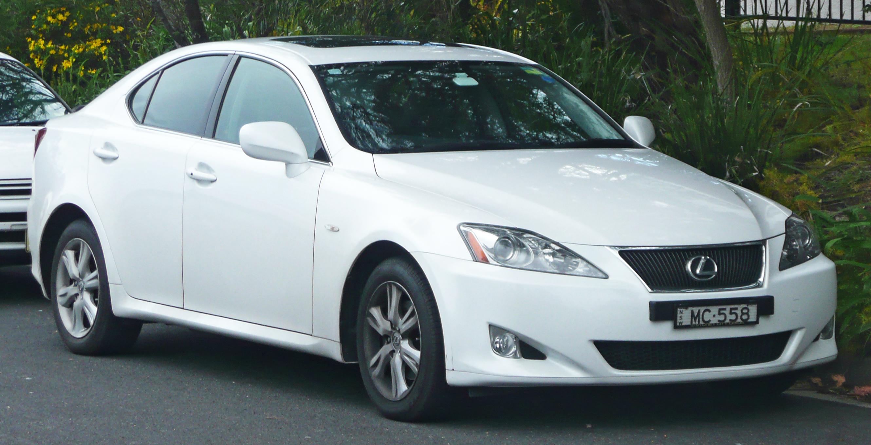 File 2005 2008 Lexus Is 250 Gse20r Sedan 06 Jpg