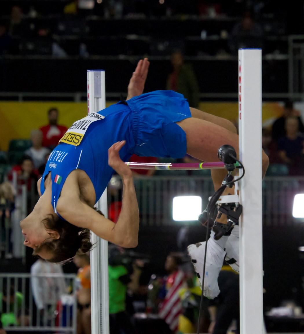2016 IAAF World Indoor Championships – Men's high jump ...