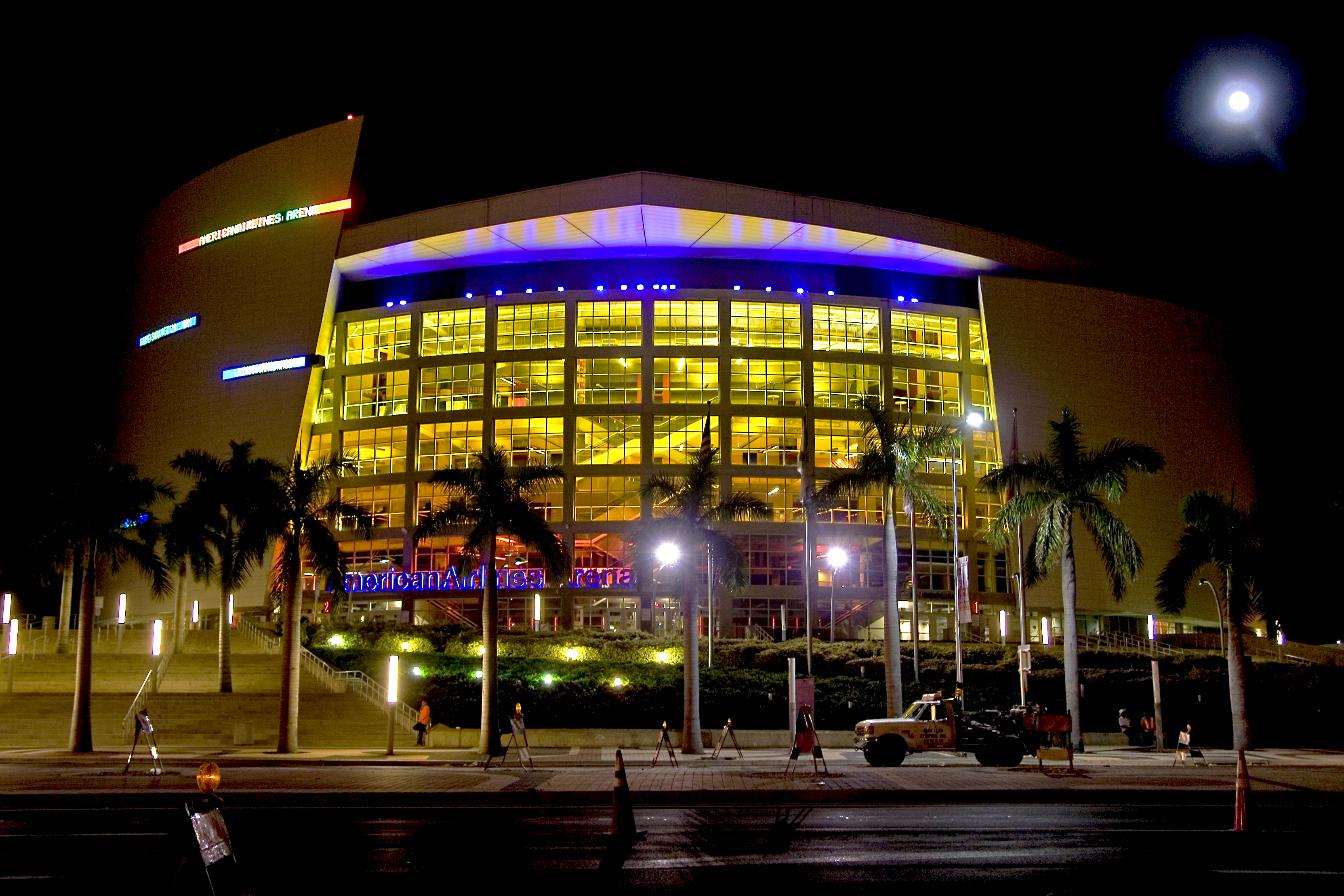 head shot of American Airlines Arena