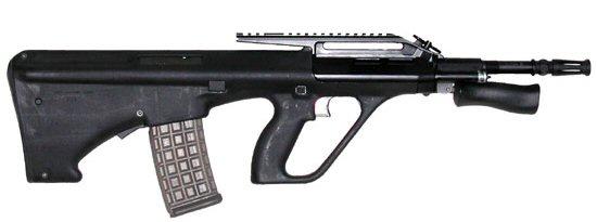 جميع الأسلحة المستخدمة من طرف الجيش الجزائري AUG_A2_407mm_klein_03