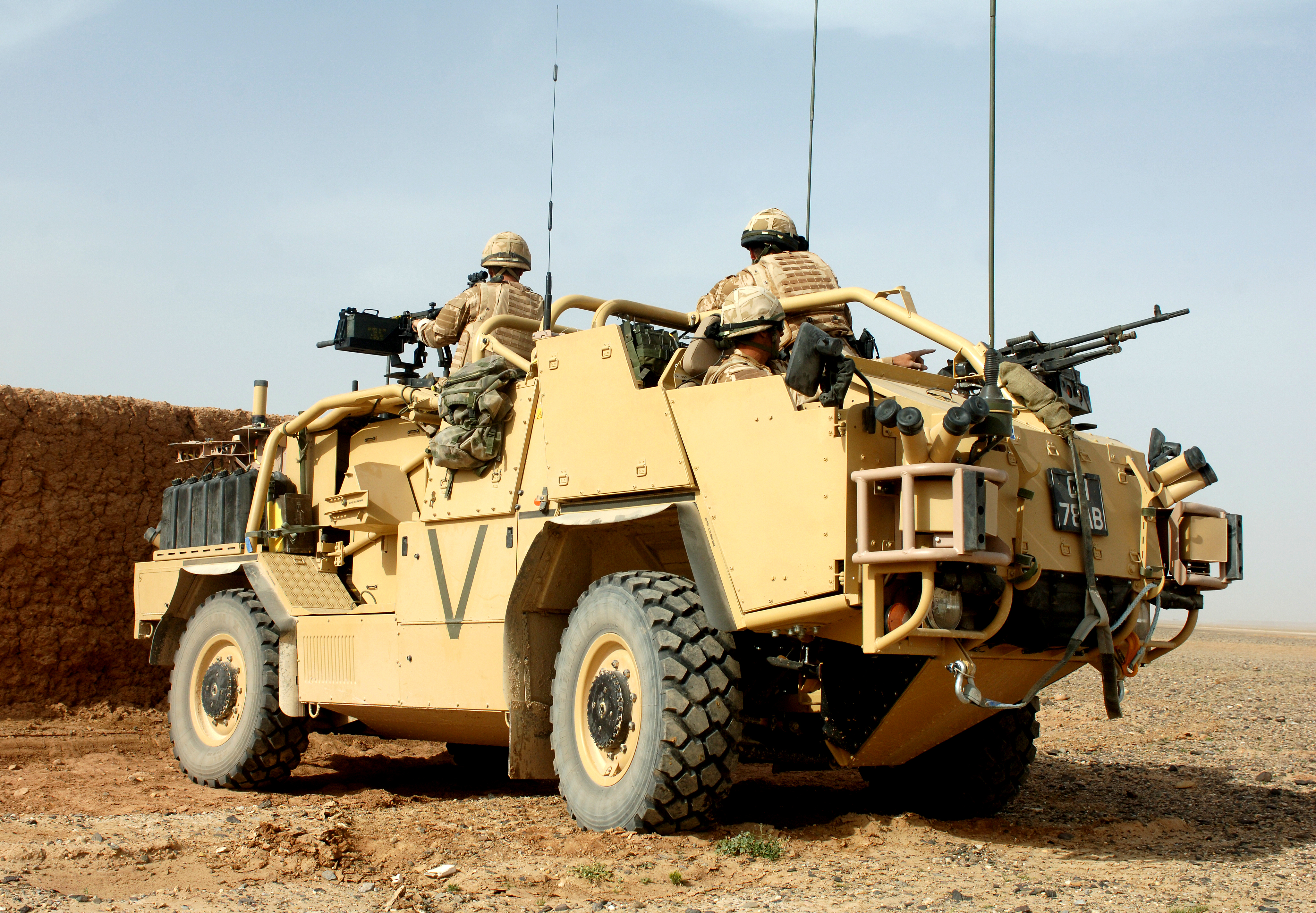 File A Jackal Armoured Vehicle Is Put Through It S Paces