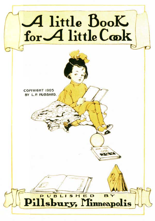 A Little Book for A Little Cook, titlepage.jpg