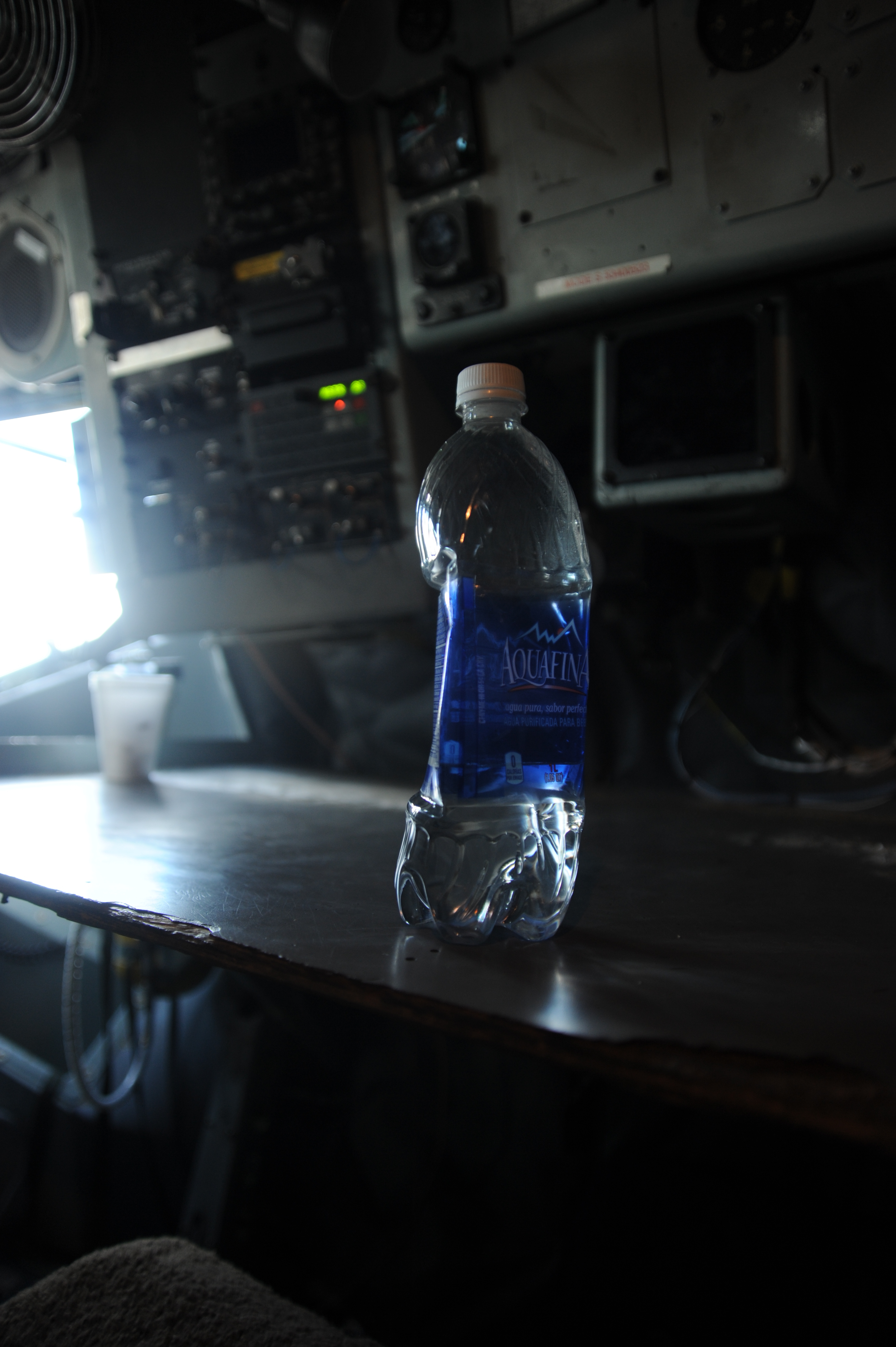 File:A water bottle contracts inside a U.S. Air Force KC ...