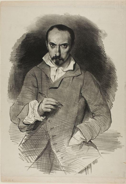 Image of Achille Devéria from Wikidata
