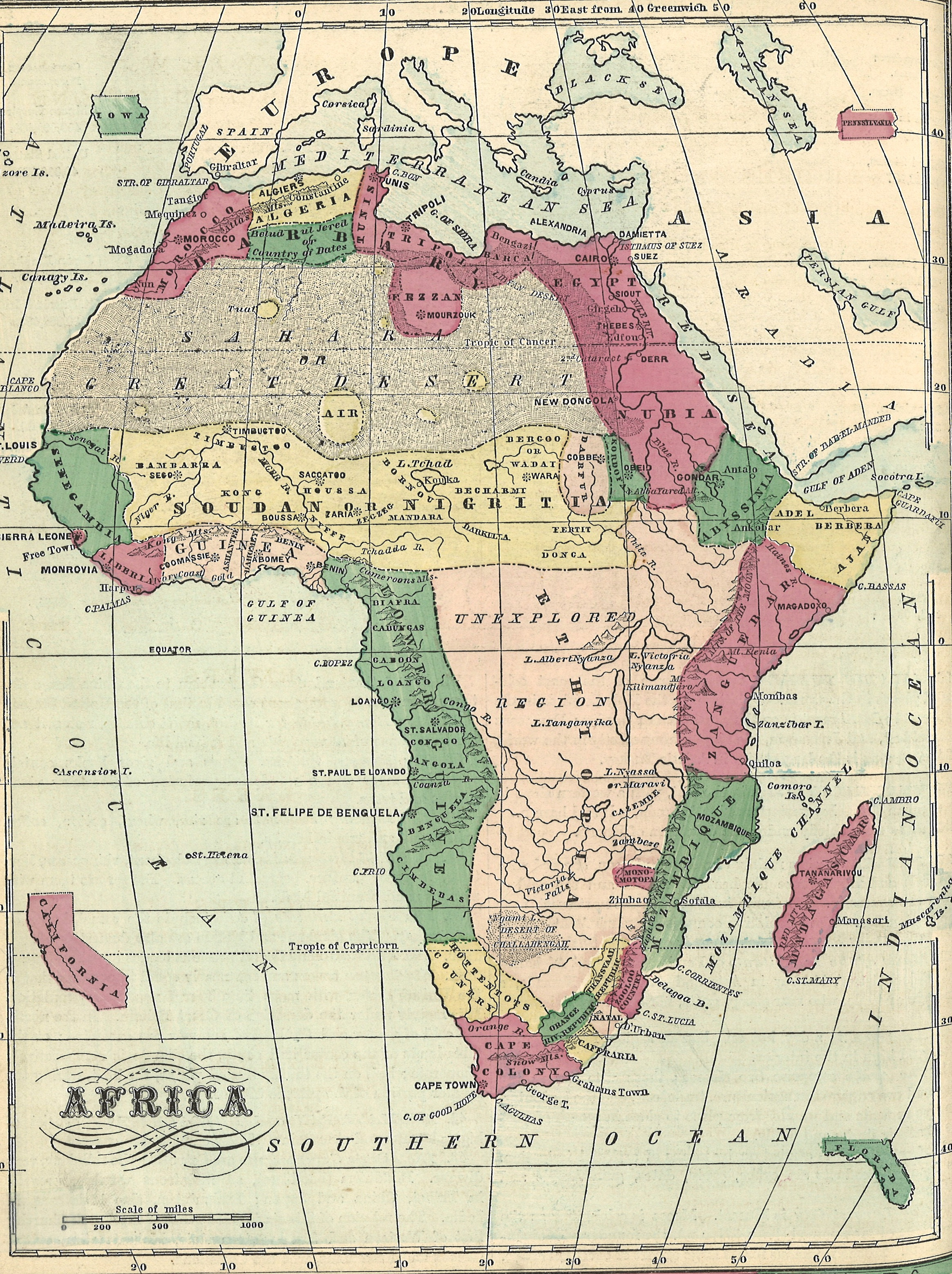 File:Africa Map from 1870s.   Wikimedia Commons