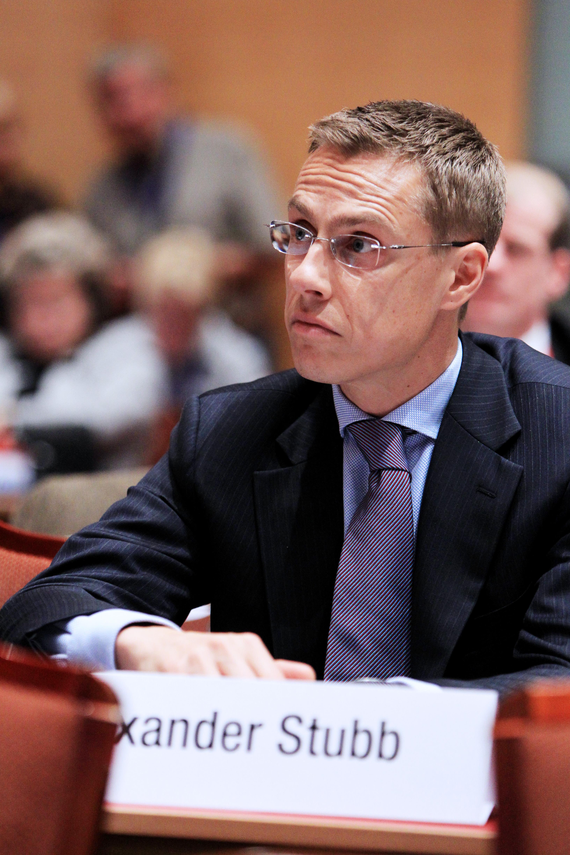 File:Alexander Stubb, utrikesminister Finland. Nordiska radets session 2010.jpg - Wikimedia Commons
