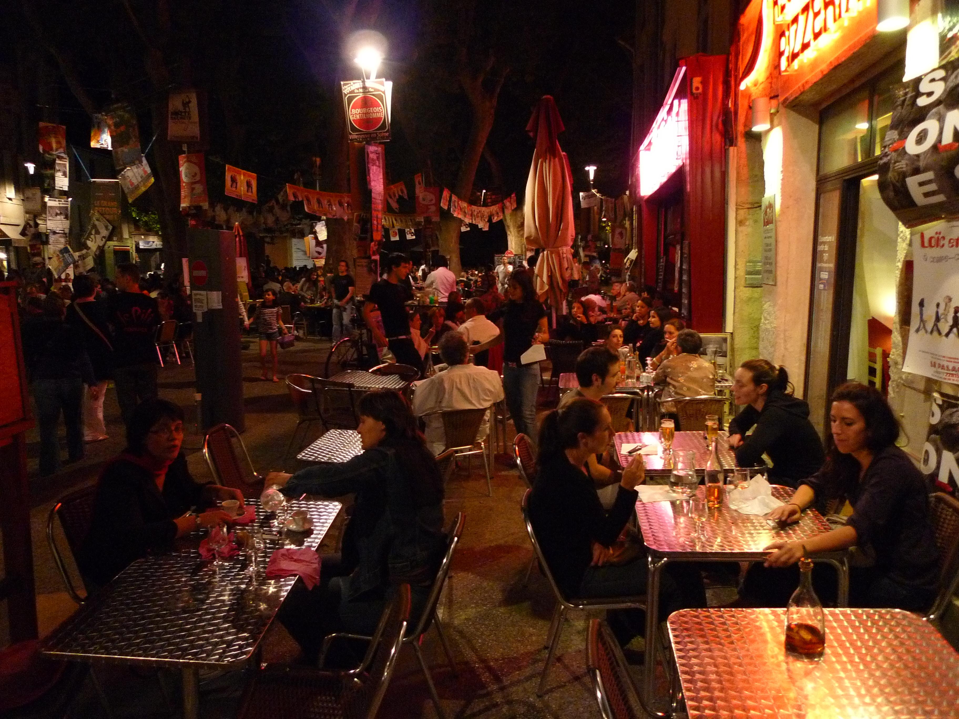 Restaurants Avignon Rue Velouterie