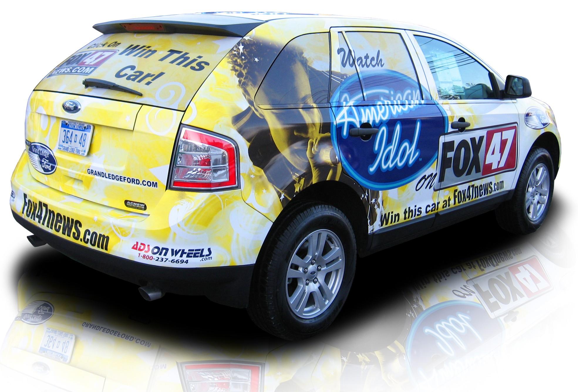 File American Idol Vehicle Wrap Jpg Wikimedia Commons