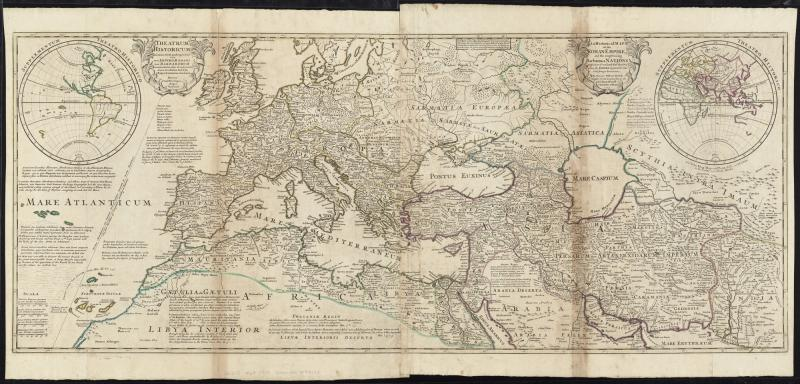 File:An historical map of the Roman Empire and the