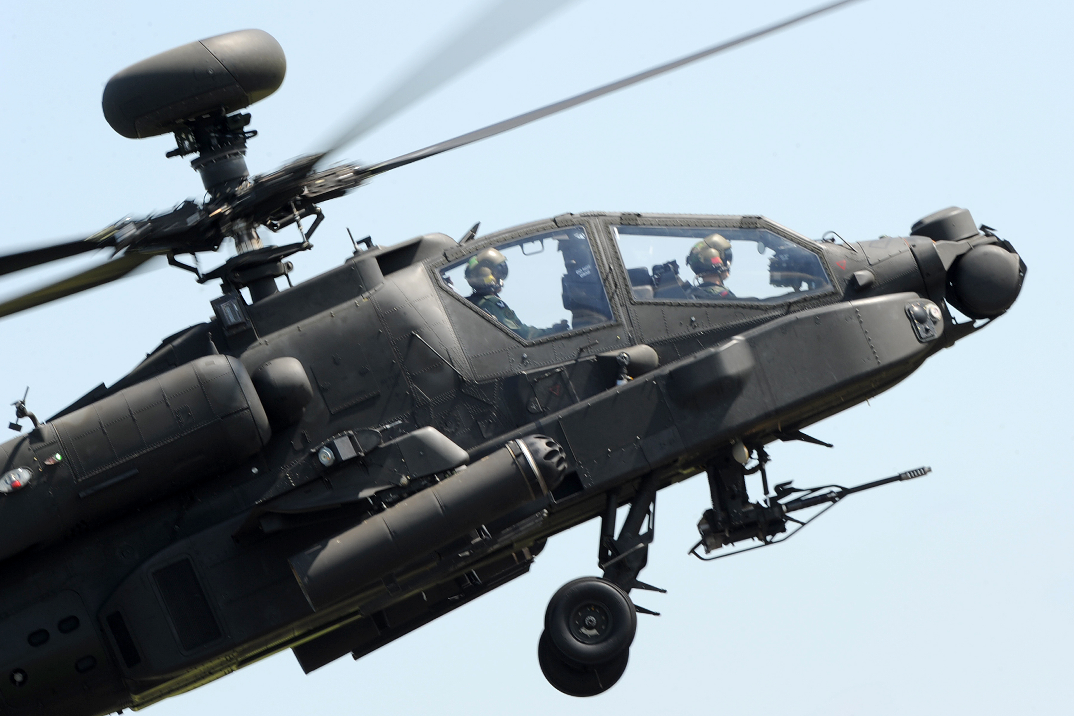 File:Army Air Corps Apache Attack Helicopter MOD 45155699 ...
