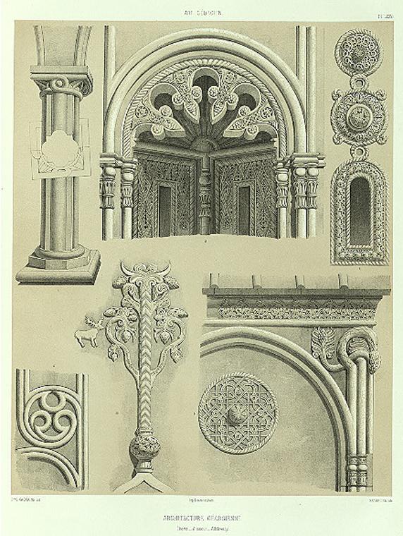 file art georgien details d 39 architecture 1847 jpg