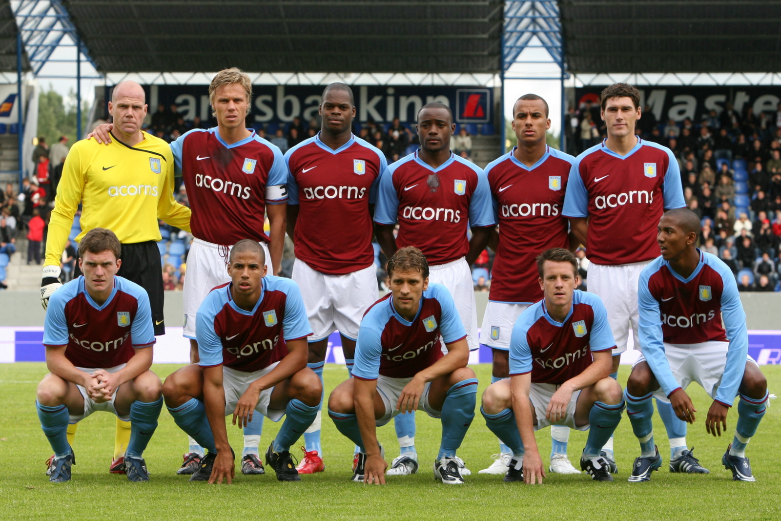 Aston Villa Team Formation V Hull