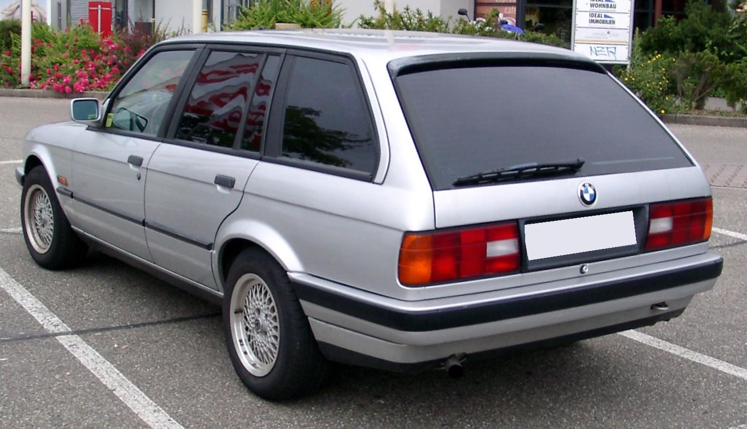 File Bmw E30 Touring Rear 20080625 Jpg