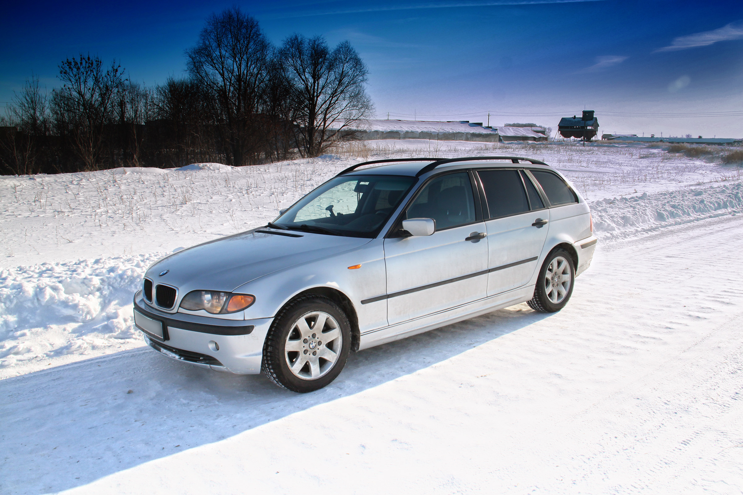 File Bmw E46 Touring Winter Jpg