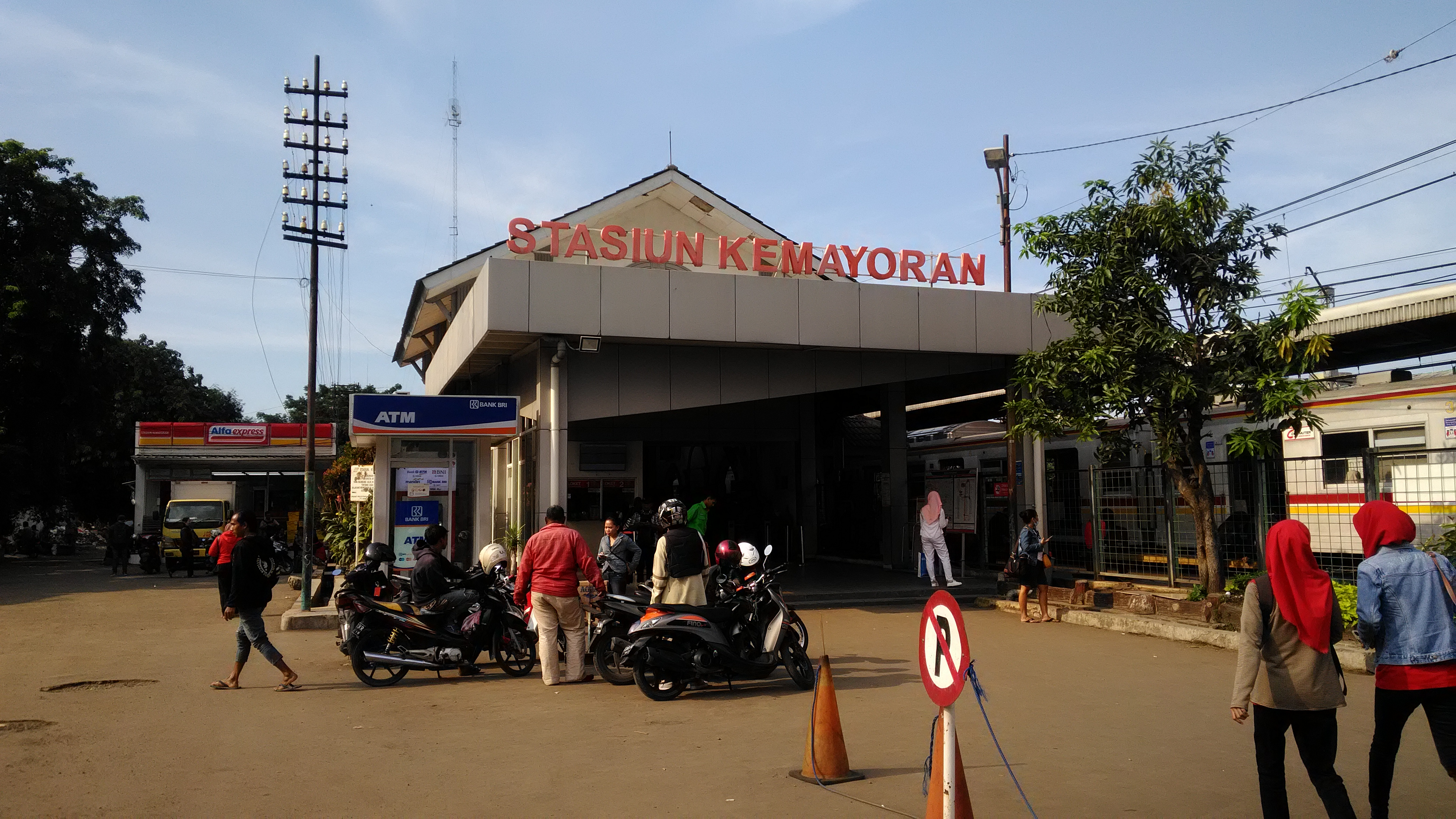 Kemayoran Railway Station Wikipedia