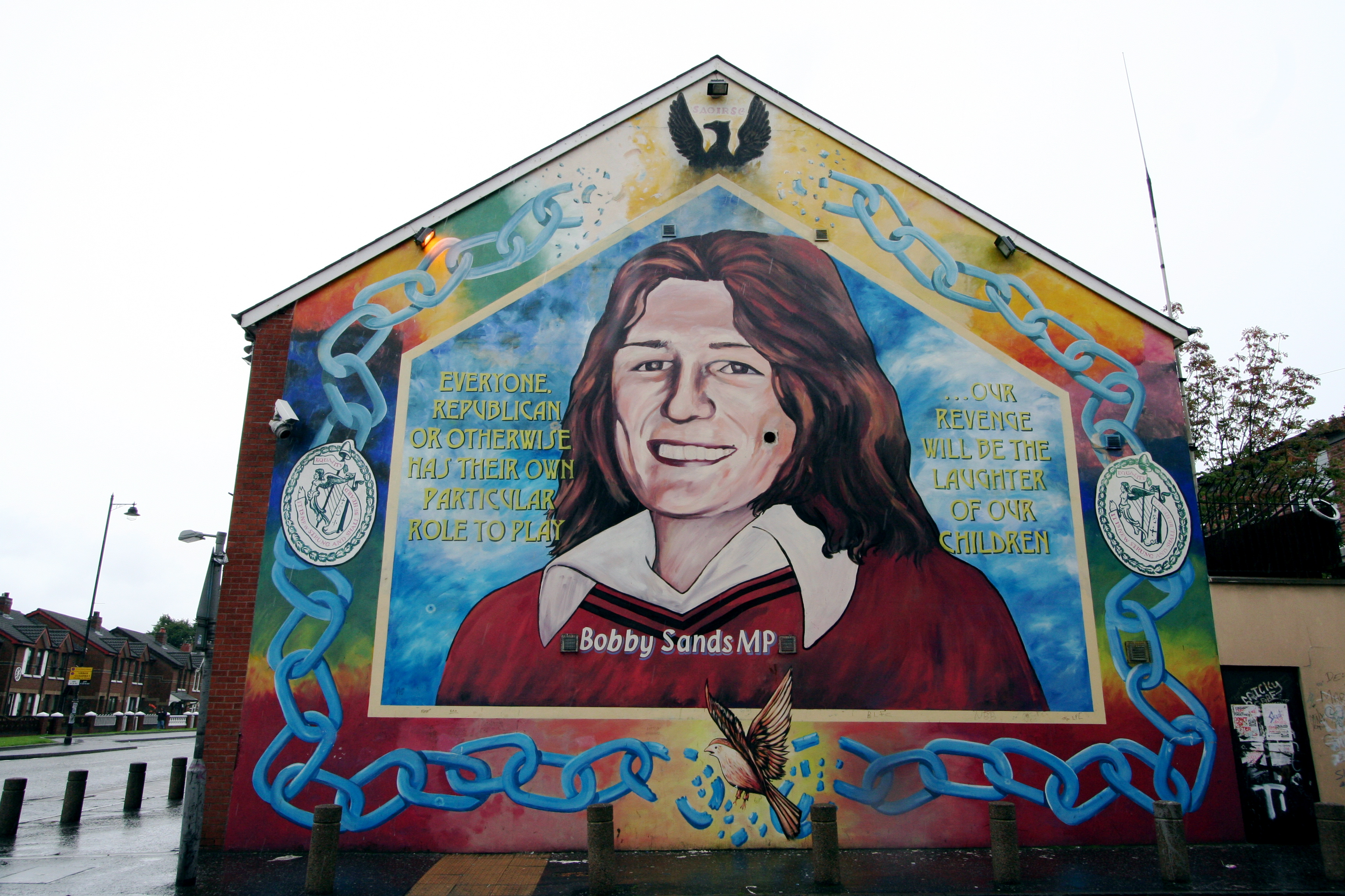 File belfast murals wikimedia commons for Bobby sands mural