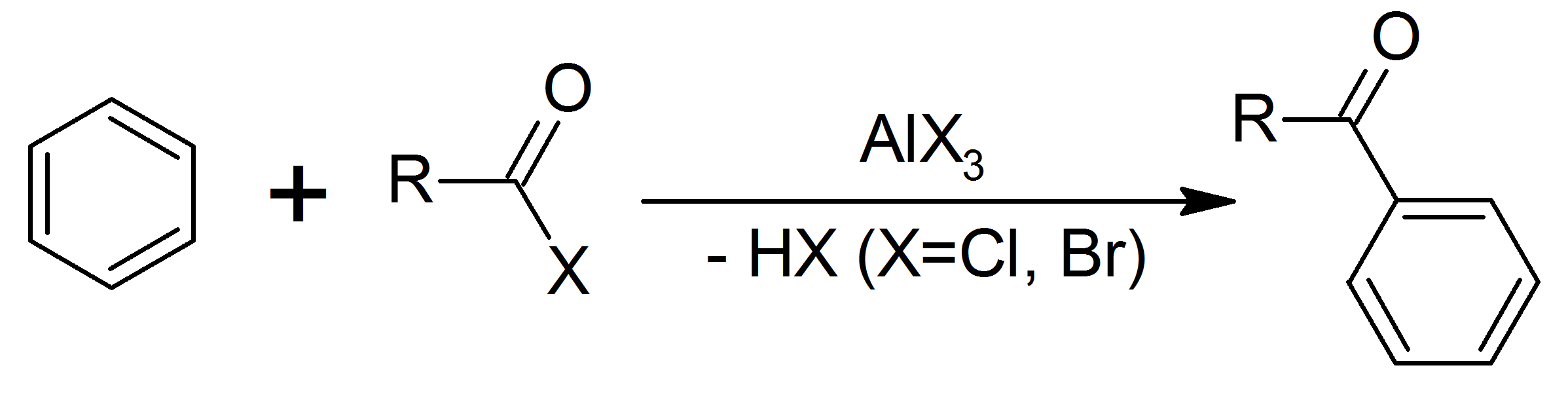 Friedel-Crafts Acylation with acyl chloride
