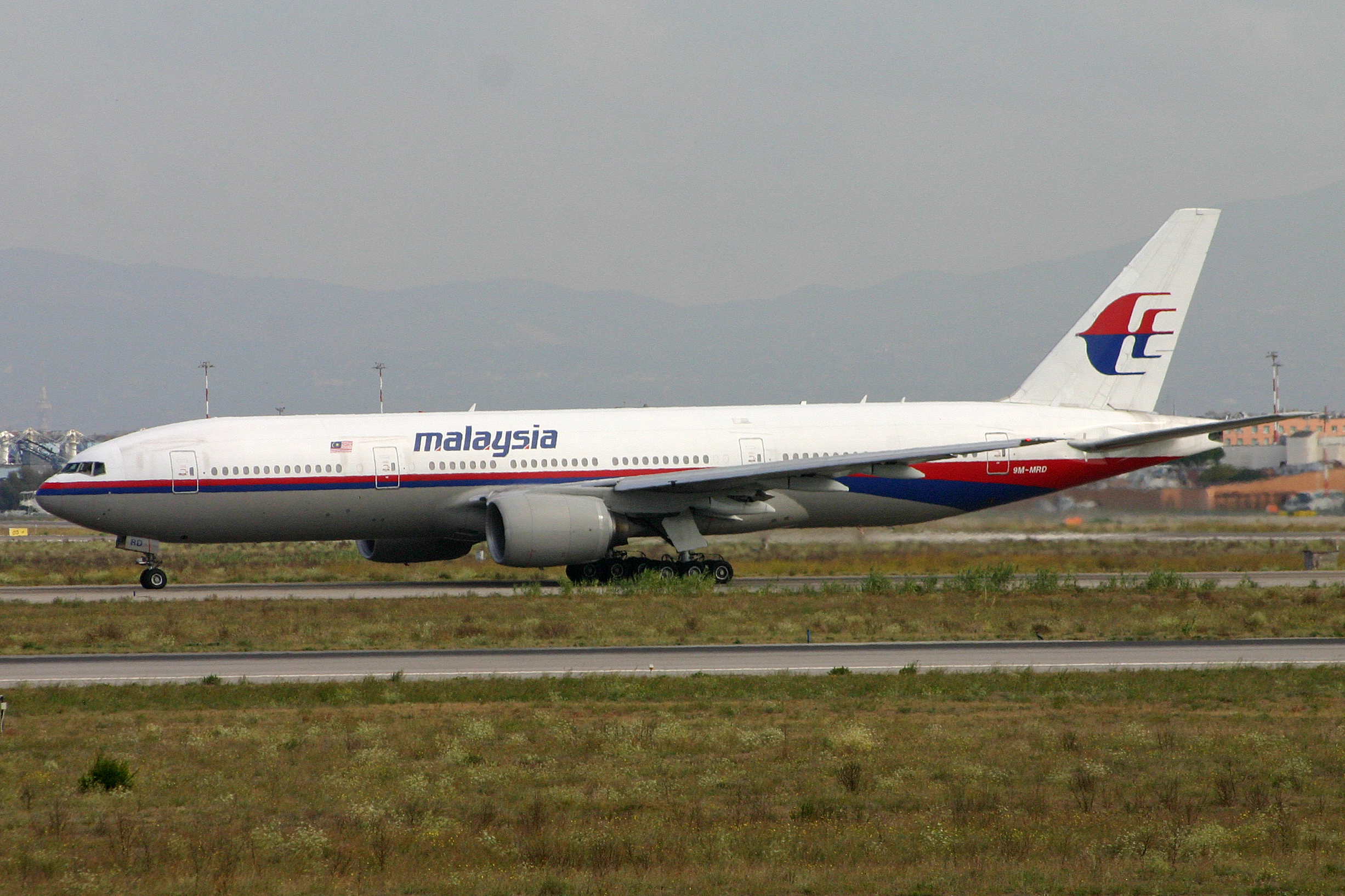 Depiction of Vuelo 17 de Malaysia Airlines