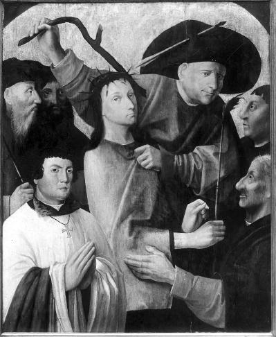 File:Bosch copyist or follower Christ Crowned with Thorns with donor.jpg