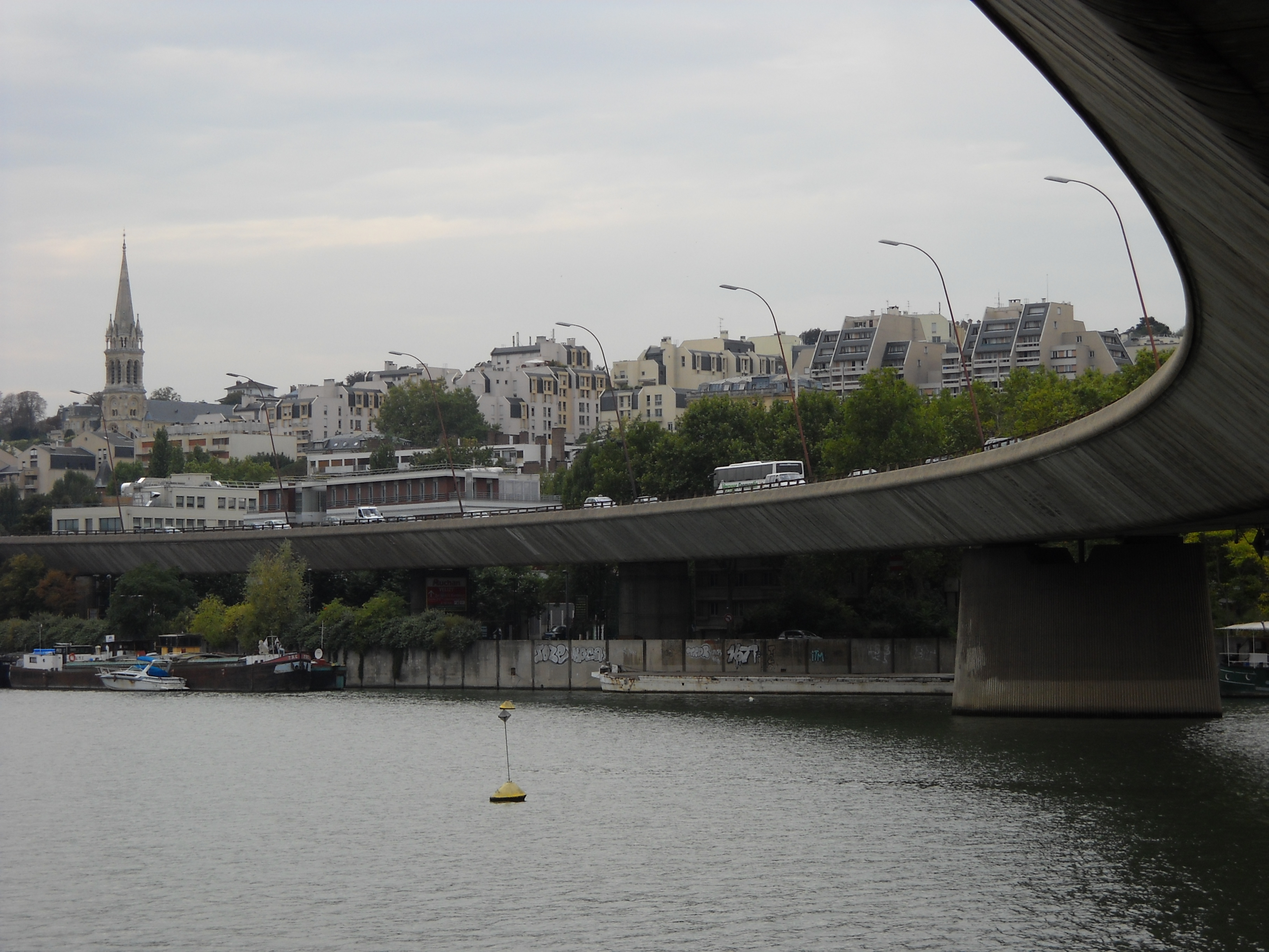 FileBoulogneBillancourt  SaintCloud  A13 Bridge  2
