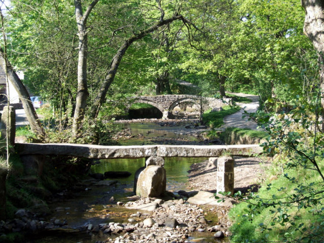 Bridges, Wycoller Country Park - geograph.org.uk - 608552