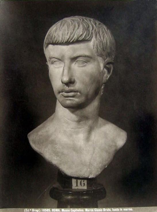 Brogi, Carlo (1850-1925) - n. 16585 - Roma - Museo Capitolino - Marco Giunio Bruto, busto in marmo..jpg