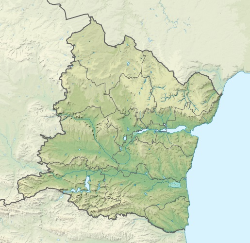 Файл:Bulgaria Varna Province relief location map.jpg