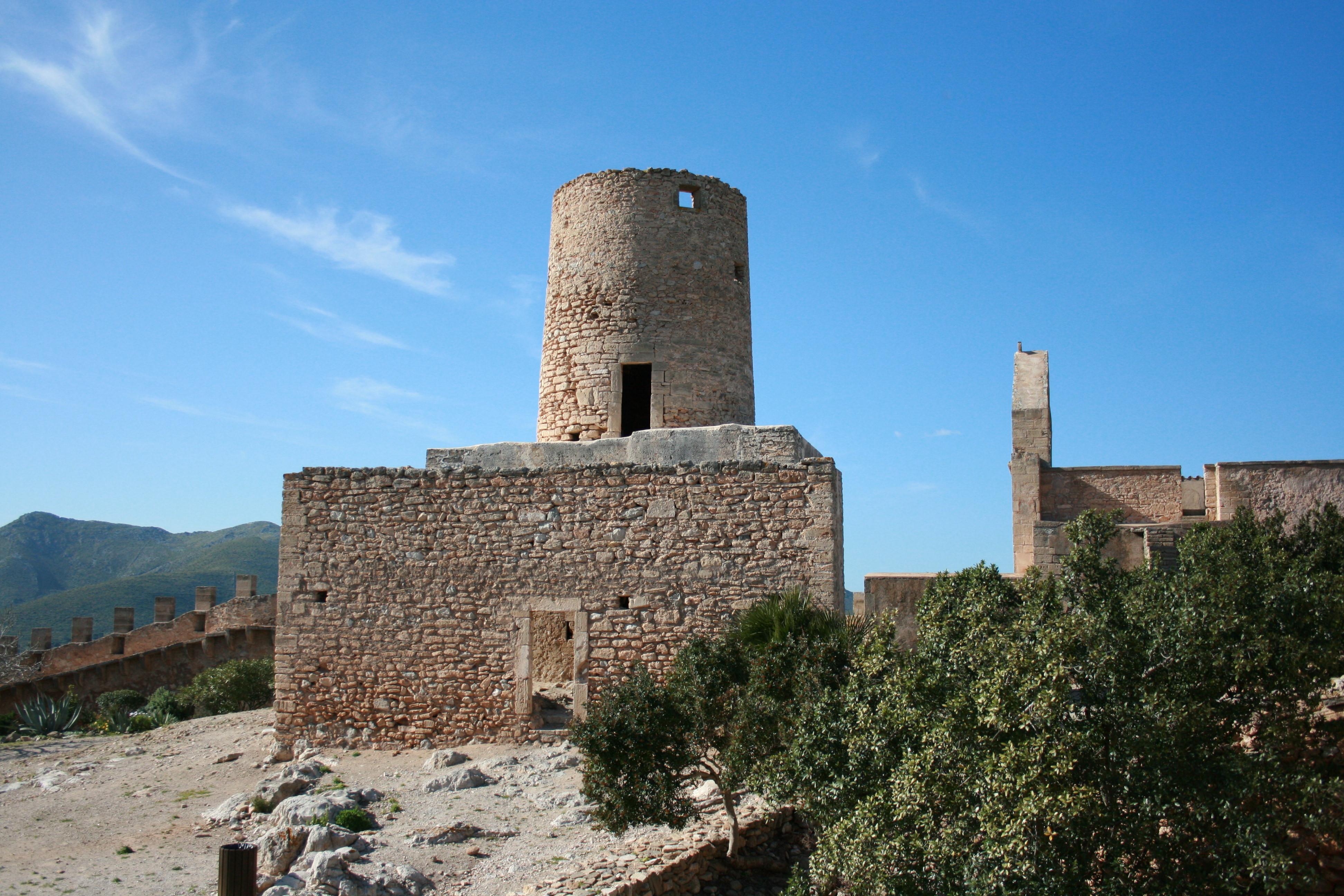 Depiction of Castillo de Capdepera