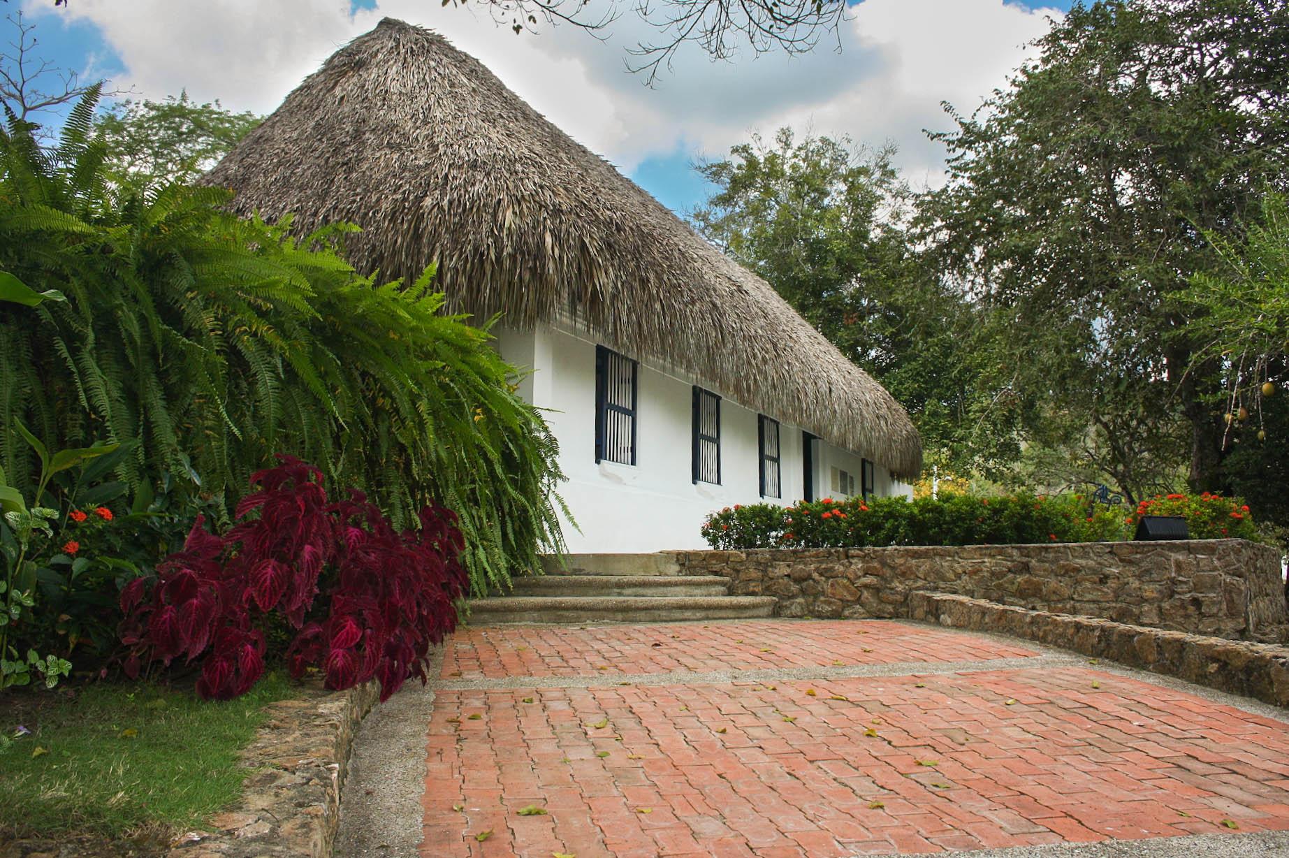 Casa Museo de Julio Flórez en Usiacurí, Atlántico, donde pasó sus últimos años de vida.