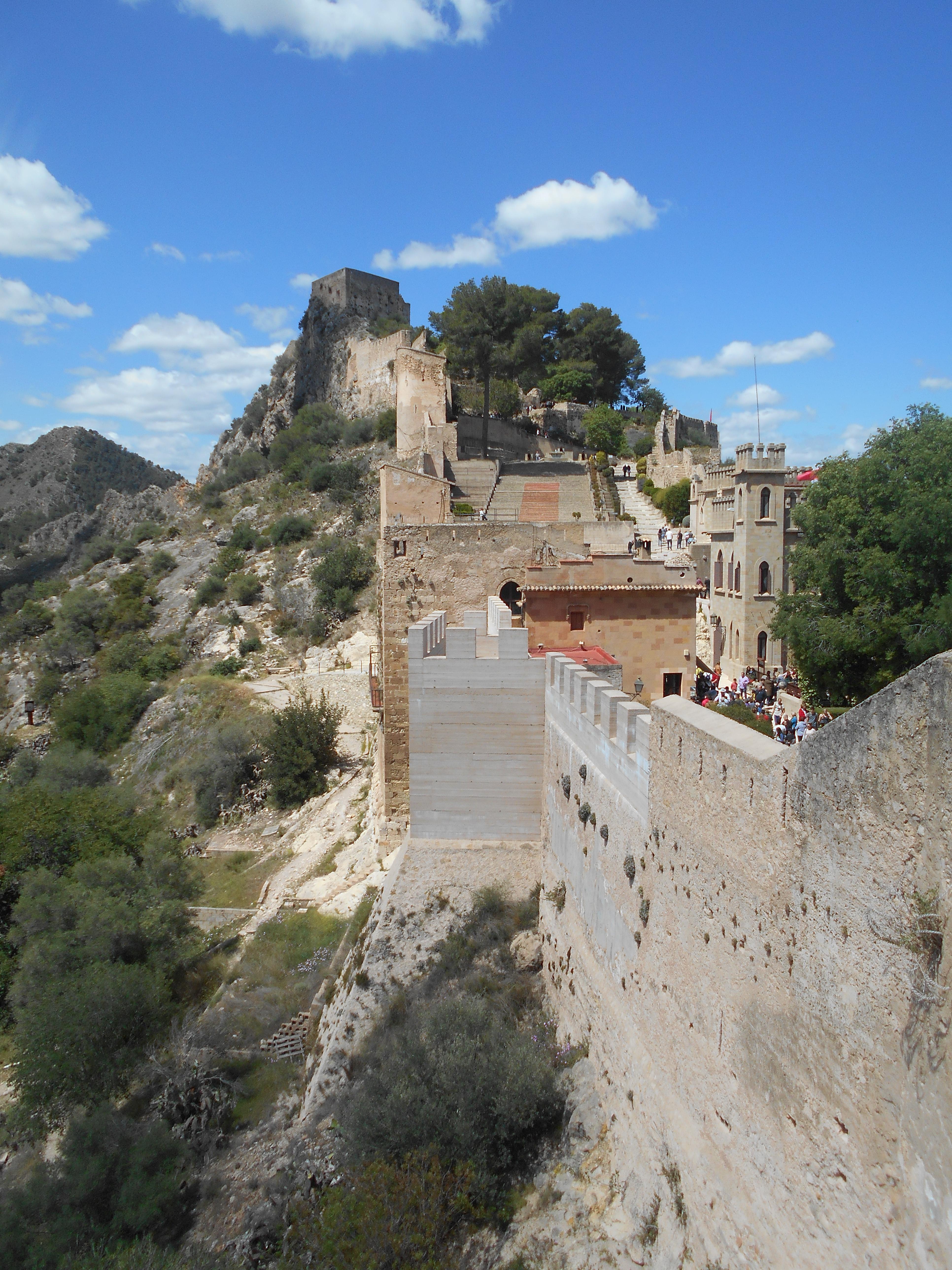 Map Of Xativa Spain.Xativa Castle Wikipedia