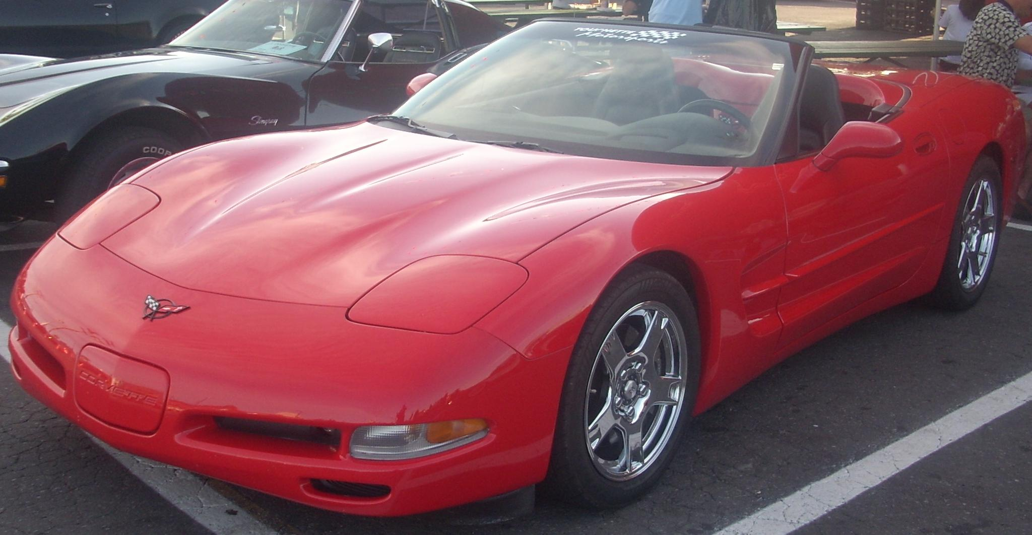 File:Chevrolet C5 Corvette Convertible (Orange Julep) jpg