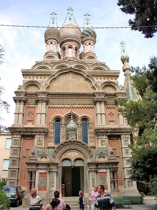 Храм Христа Спасителя в г. Сан-Ремо