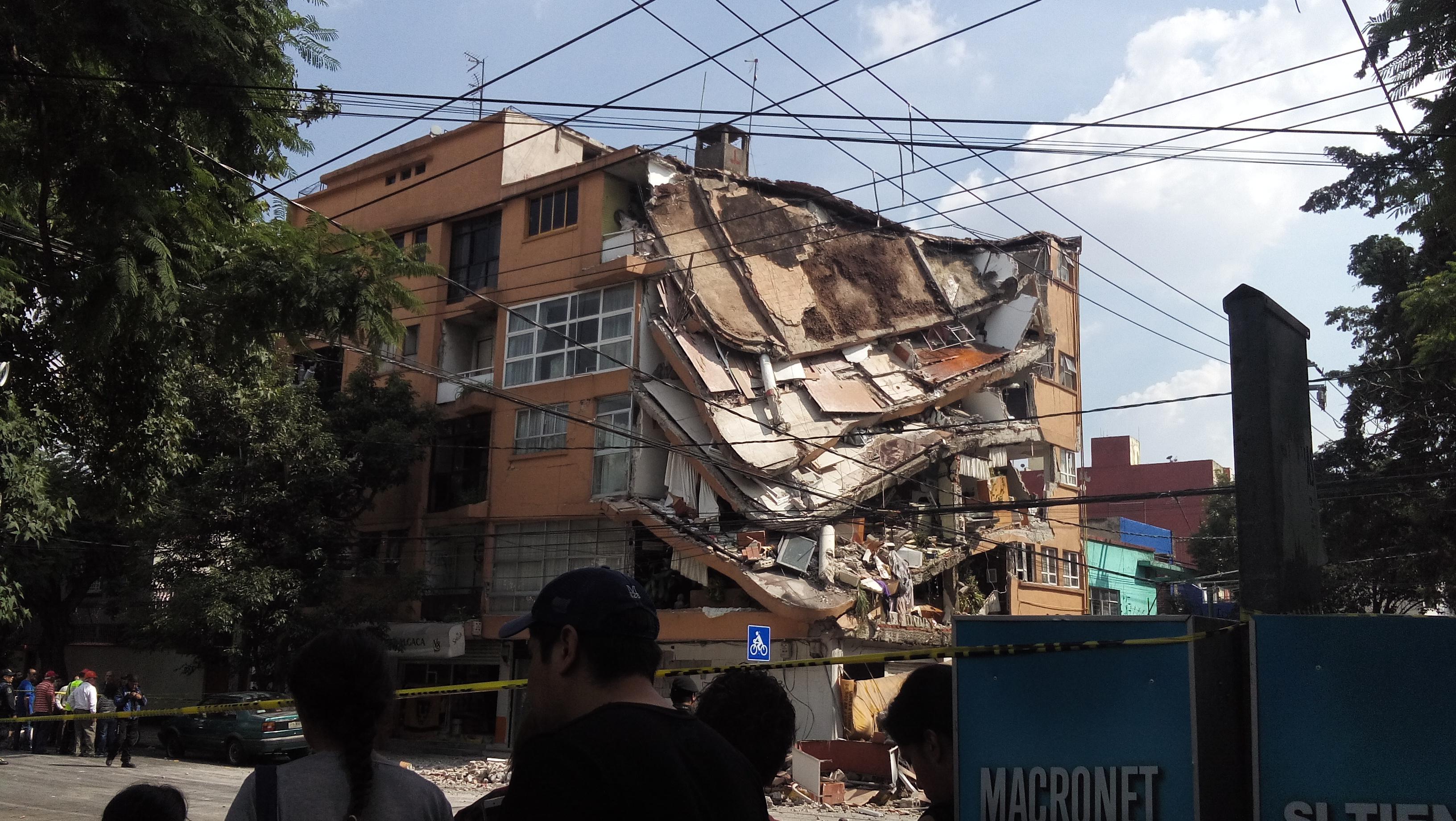 terremoto del 2017