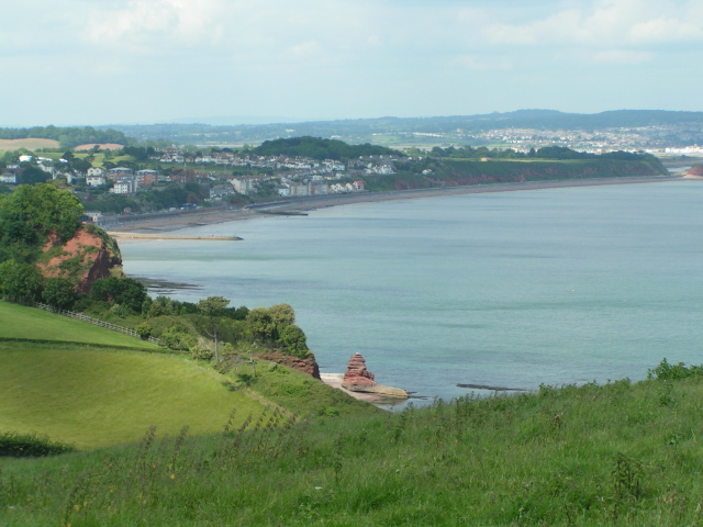 Coast path between Teignmouth and Dawlish - geograph.org.uk - 971780