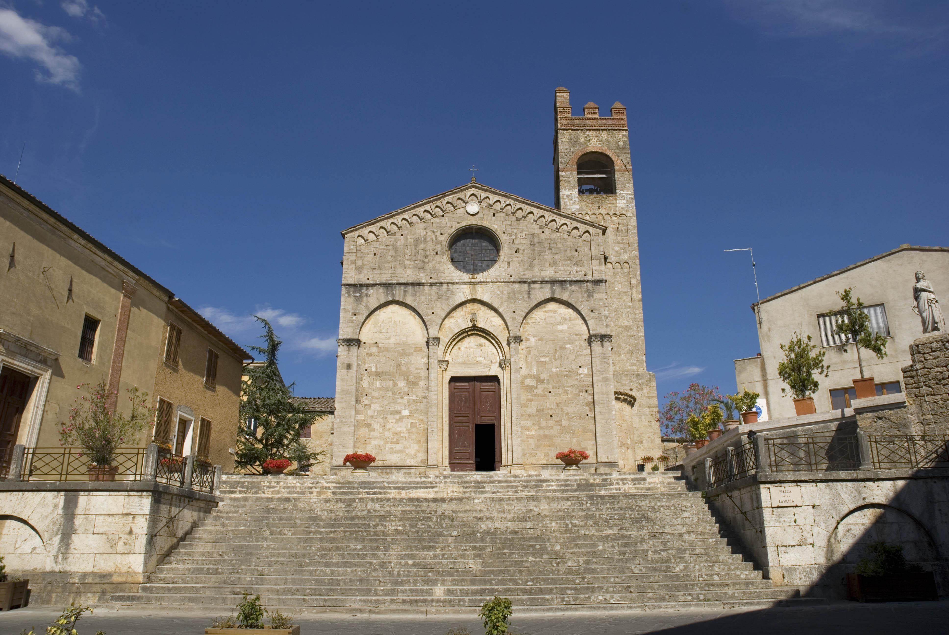 Abside della Collegiata di Sant'Agata (Asciano)