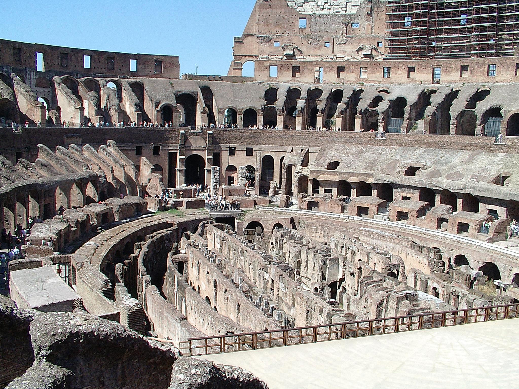 Inside Rome's Colosseum